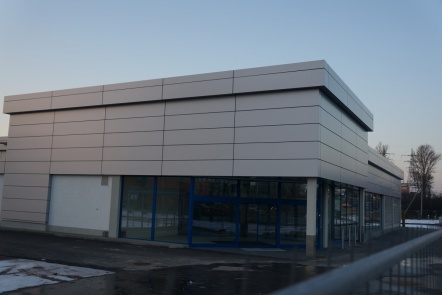 Prekybos paskirties pastatas, Vilnius