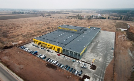 Lithuanian Post Logistics Center, Kaunas District