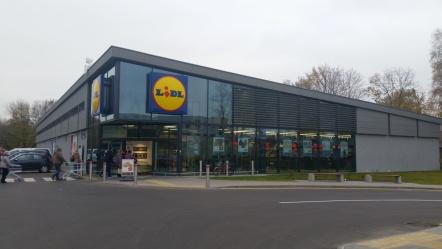 LIDL, WILNO, LITWA