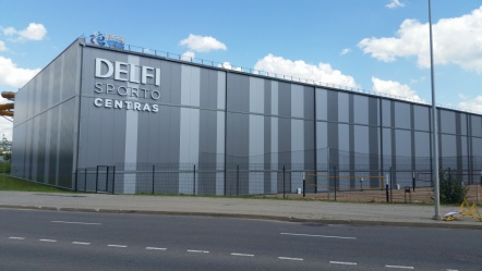 Delfi Sports Center, Vilnius