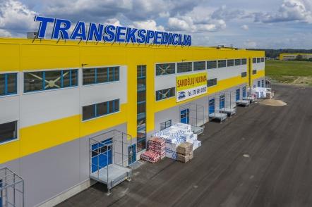 Transekspedicija logistikos centras, Vilniaus raj.